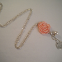 In Bloom Rose Necklace