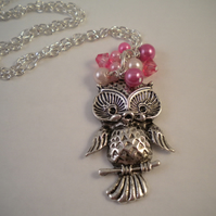 Pretty Owl necklace