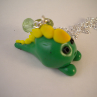 SALE Cute-o-saurus Dinosaur Necklace