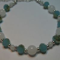 Cloudy Sky Bracelet(only more sparky and pretty than todays sky!)