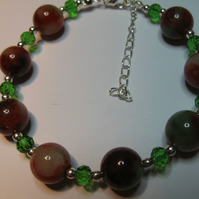 Red and Green Bracelet
