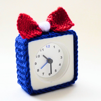 alarm clock cosy, knitted alarm clock cozy cover, gift for teacher
