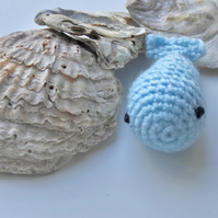 Fish cat toy, crochet fish, crochet cat toy