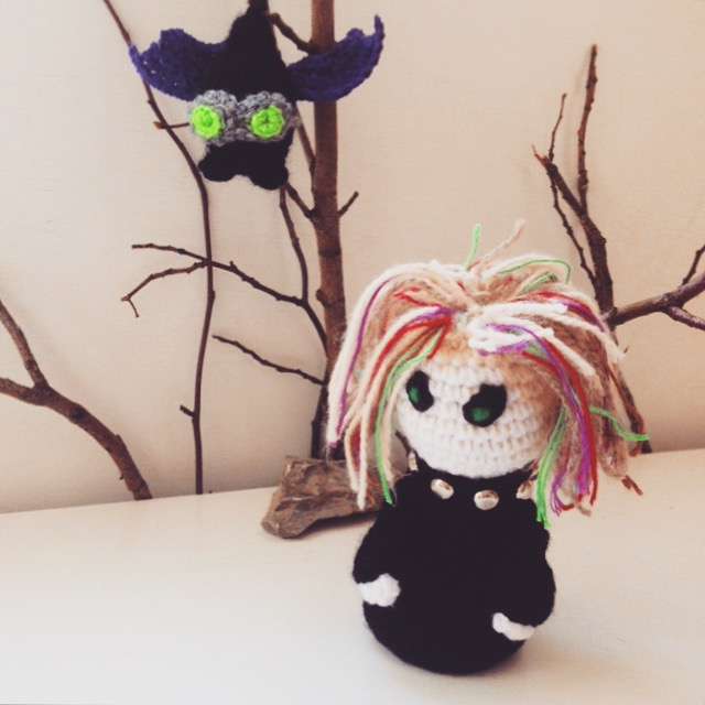 Gothic Voodoo Inspired Fairy OOAK Doll , Goth Fairy Crochet ... | 640x640