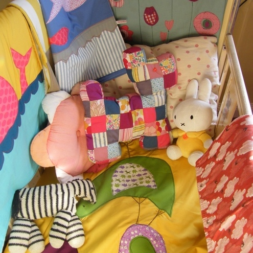 Funky Baby Quilt