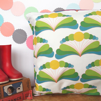 Citrus Fan Cushion