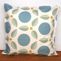 Two tone petals cushion