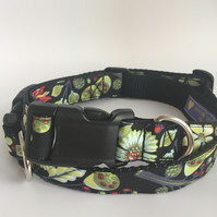 autumn sprout dog collar - size 3