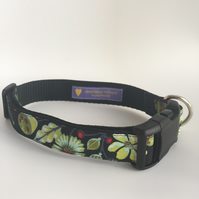 Autumn sprout dog collar - size 4