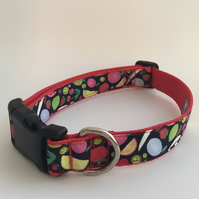 fruity dog collar - size 1