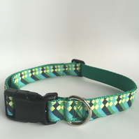 waterfall dog collar - size 3