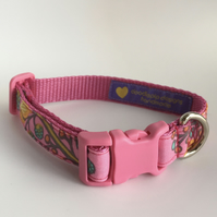 spring sprout dog collar - size 1