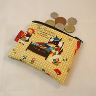 Little Red Riding Hood Fabric Coin Purse - Free P&P