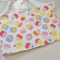 Multicolour Cupcakes Fabric Money Belt or Apron - Free UK P&P