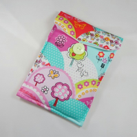 Vibrant Hills Fabric Padded Gadget or Tablet Cover - Free UK P&P
