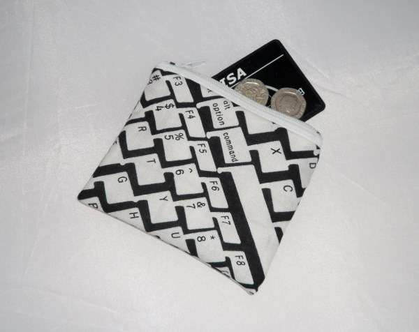 Keyboard Fabric Coin Purse - Free P&P