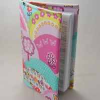 Happy Hills Fabric Covered A6 2017 Hardback Diary - Free UK P&P