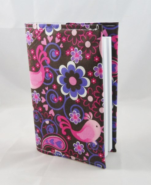 Beautiful Birds Fabric Covered A6 2017 Hardback Diary - Free UK P&P