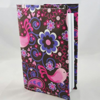 Beautiful Birds Fabric Covered A6 2019 Hardback Diary - Free UK P&P