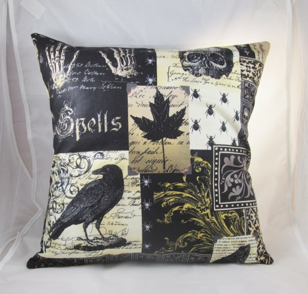"Nevermore 16"" Cushion Cover - Free UK P&P"