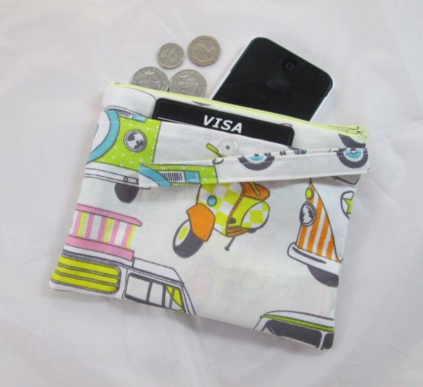 Sorbet Vehicles Fabric Party Purse - Free P&P