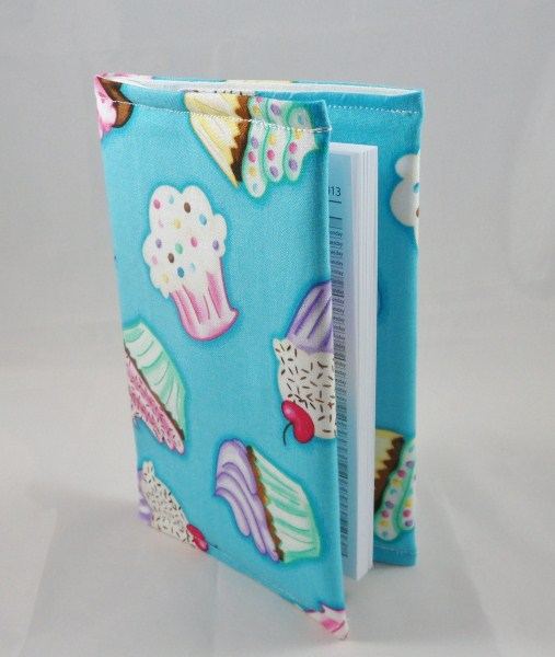 Cute Cupcakes Fabric Covered A6 2018 Hardback Diary - Free UK P&P