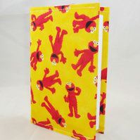 Elmo Fabric Covered A6 2018 Hardback Diary - Free UK P&P