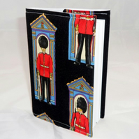 London Guards Fabric Covered A6 2017 Hardback Diary - Free UK P&P