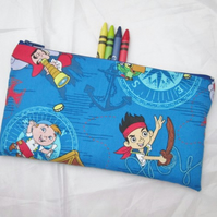 Pirates Fabric Pencil Case - Free UK p&p
