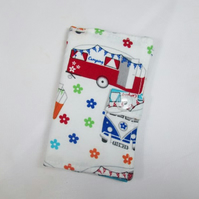 Campervans Fabric Card Holder - Free UK P&P