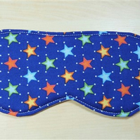 Stars Fabric Eye Mask - Free P&P