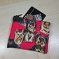 Cute Yorkies Fabric Coin Purse - Free P&P