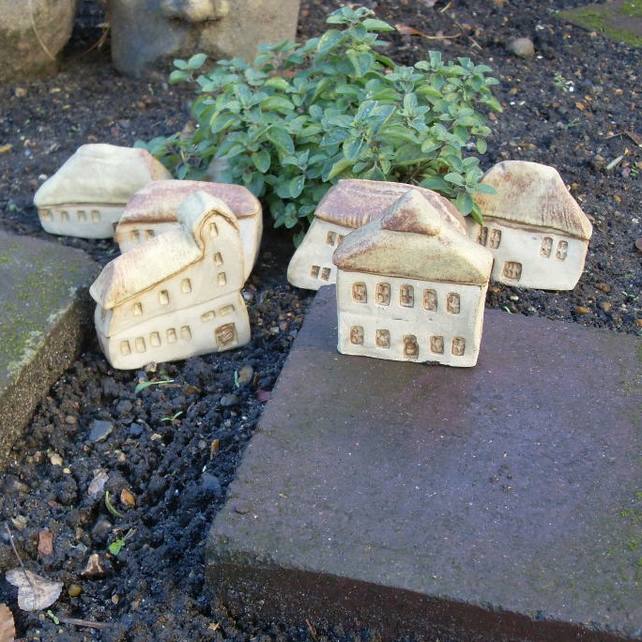 Ceramic miniature village property