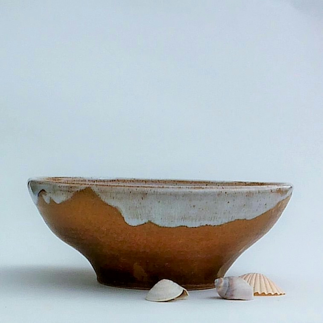 Along the Shore Line - Large Ceramic Bowl