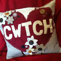 Welsh CWTCH cushion, MTO, 12inch