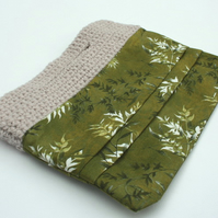 Fern Fabric Clutch Bag