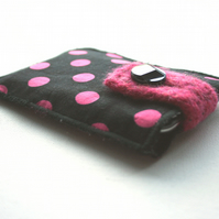 Pink Spotty iPod Cozy