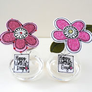 Special Order for Abbi-A Flower in a Bottle, Happy Mother's Day