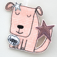 'Happy Doggy' - Hanging Decoration