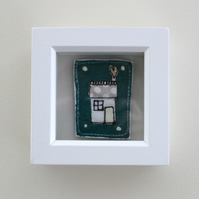 'Home Sweet Home' - Framed Textile