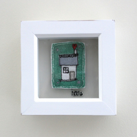 'Home Sweet Home' 2 - Framed Textile