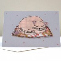 'Sweet Dream' C6 Blank Card