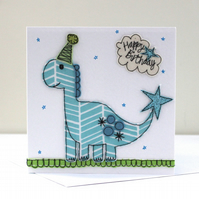 'Mr Dinosaur' Birthday Card