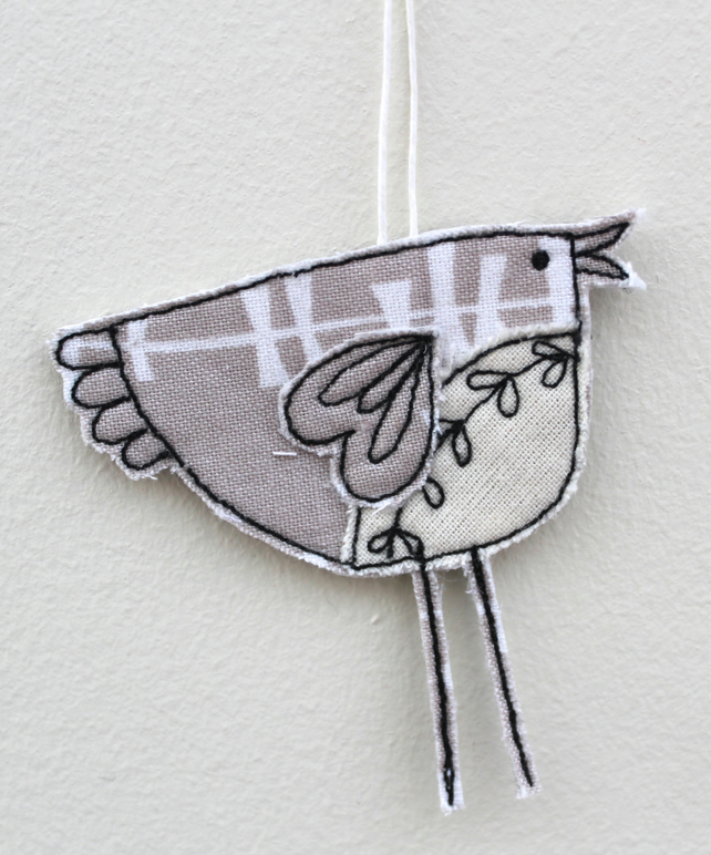 Baby Birdie - Hanging Decoration