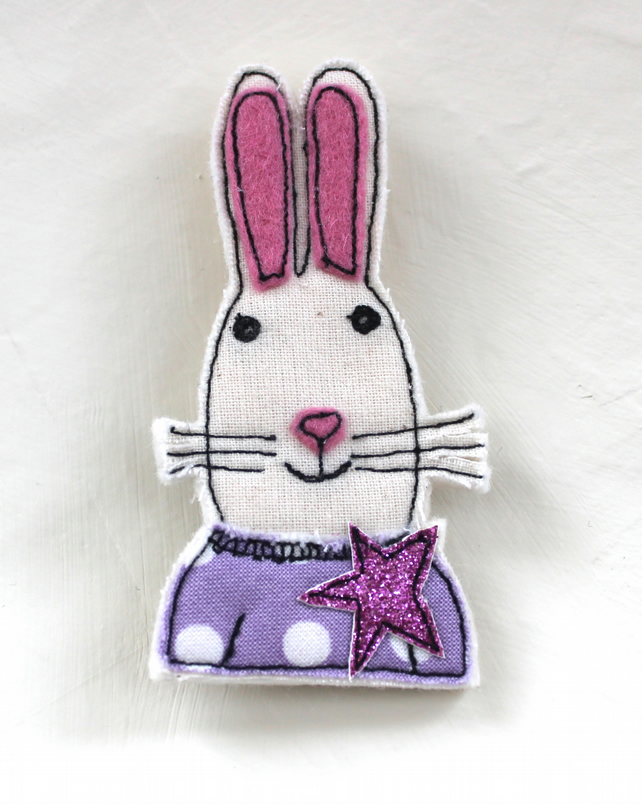 Bunny Badge