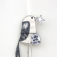 'A Little Birdie Told Me' - Hanging Decoration