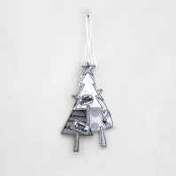 Three Little Trees - Hanging Decorations