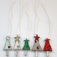 Christmas Tree Parcel Toppers - Pack of 5