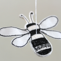 Mr Bee 'Bee Mine' - Hanging Decoration