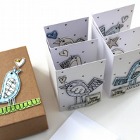 'Happy Birthday Little Birdie' - A Box of Six Cards with Envelopes